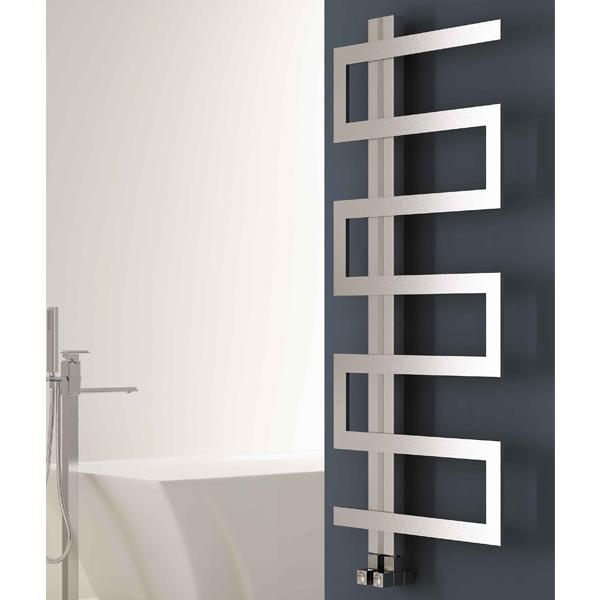 Carisa Ibiza Vertical Designer Radiator - Satin Polished