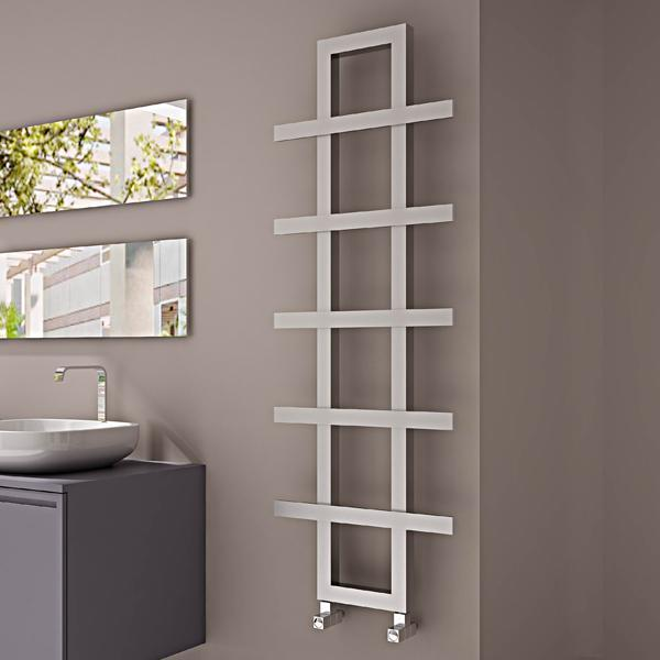 Carisa Iguana Vertical Designer Radiator - Satin Polished