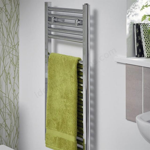 Essential Space Saving Towel Warmer - Chrome