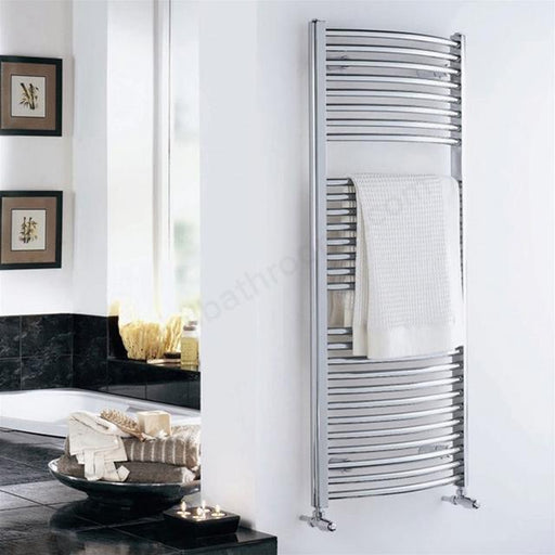 Essential Standard Curved Towel Warmer - Chrome