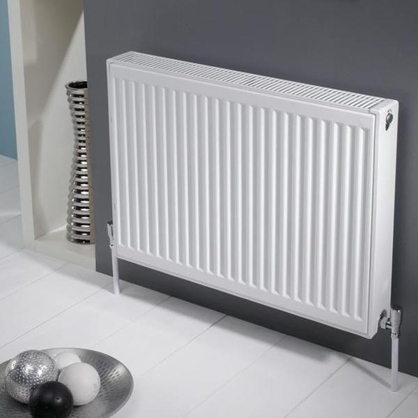 Kartell K-Rad Kompact Double Panel Radiator - White