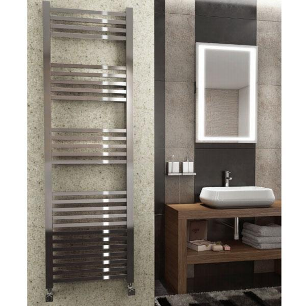 Kartell K Squared Straight Towel Rail - Chrome