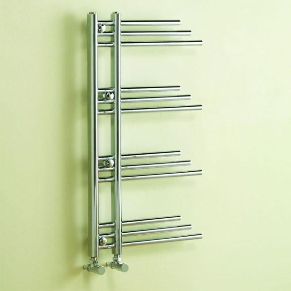 Kartell New York Designer Towel Rail - 906 x 500mm - Chrome