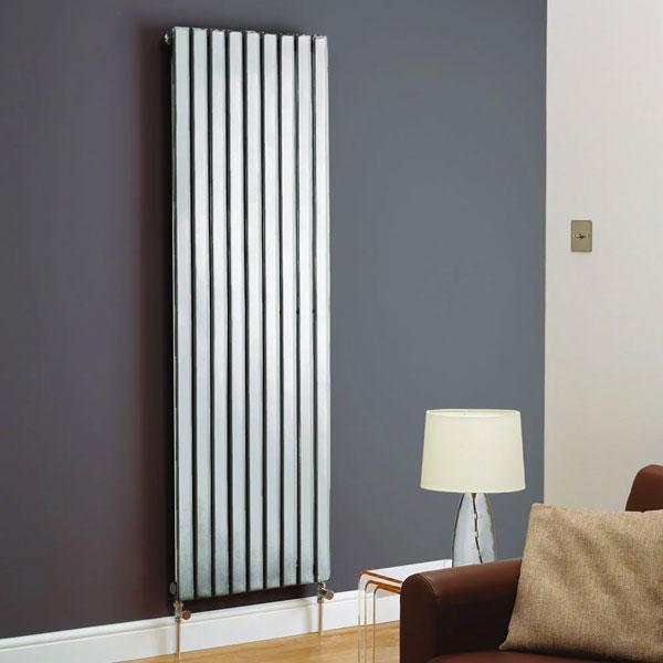 Kartell Boston Designer Vertical Radiator - Chrome