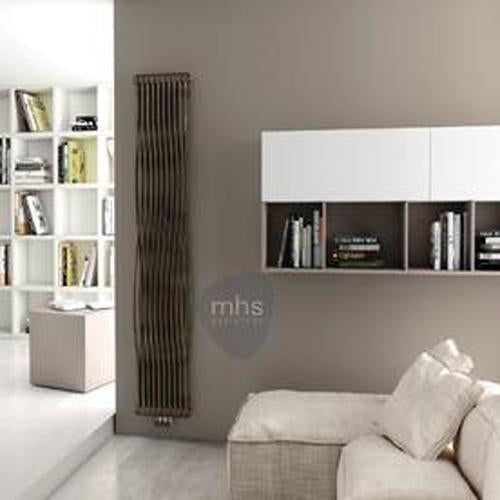 MHS Tesi Join Steel White Vertical Designer Radiators