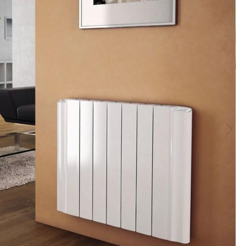 MHS Decoral Aluminium White Horizontal Designer Radiators Electric Only