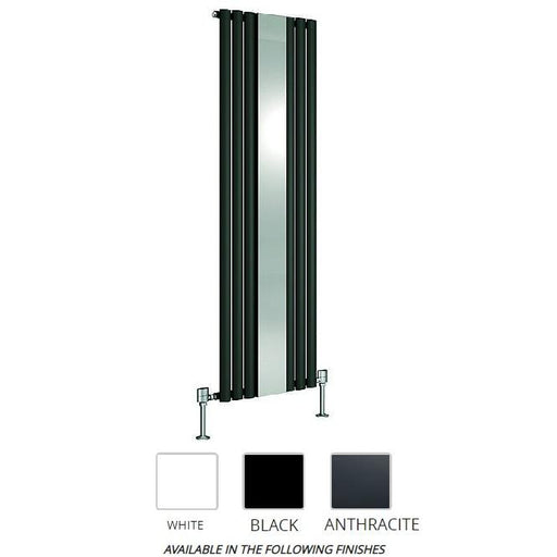 DQ Heating Cove Mirror With Designer Radiator
