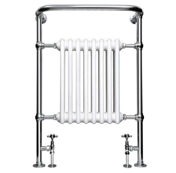Imperial Malmo Radiator - Chrome/White