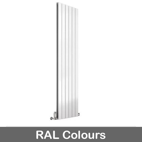 Reina Flat Panel Single Vertical Designer Radiator