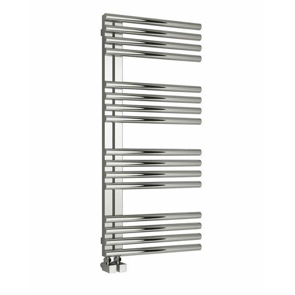 Reina Adora Vertical Designer Heated Towel Rail - Polished