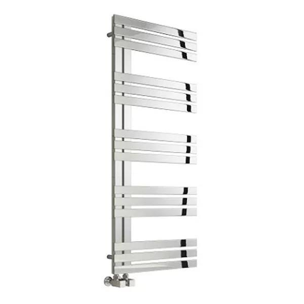 Reina Lovere Vertical Designer Heated Towel Rail - Polished