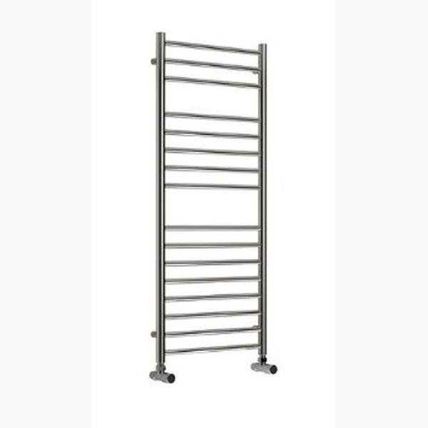 Reina Luna Flat Vertical Designer Heated Towel Rail - Polished