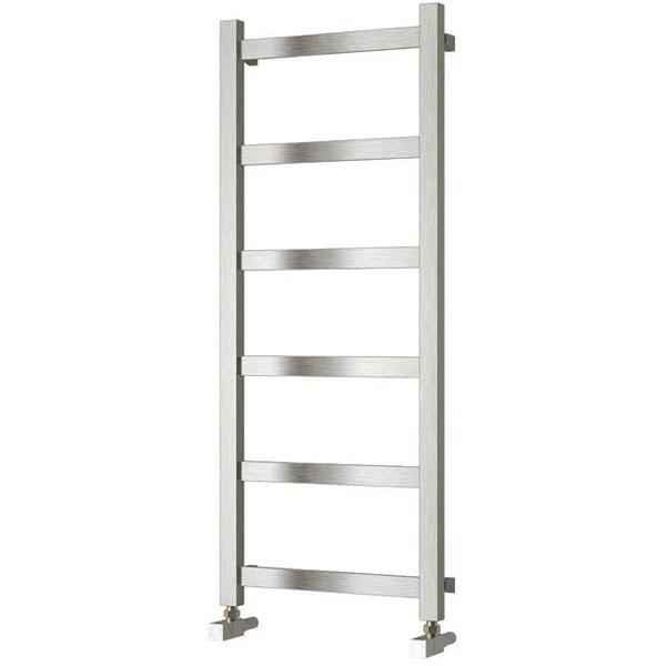 Reina Mina Vertical Designer Heated Towel Rail - Brushed