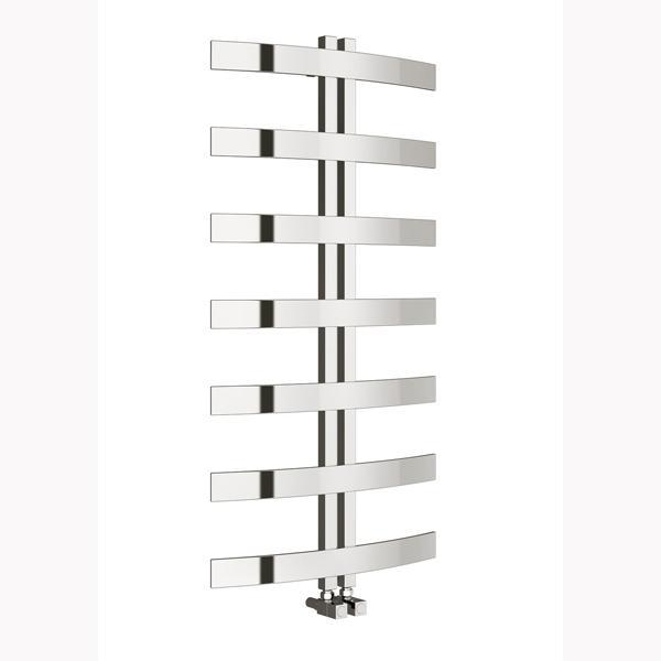 Reina Riesi Vertical Designer Heated Towel Rail - 1200mm x 600mm - Polished