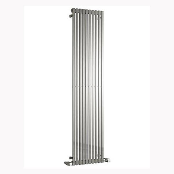 Reina Xeina Vertical Designer Heated Towel Rail - Brushed