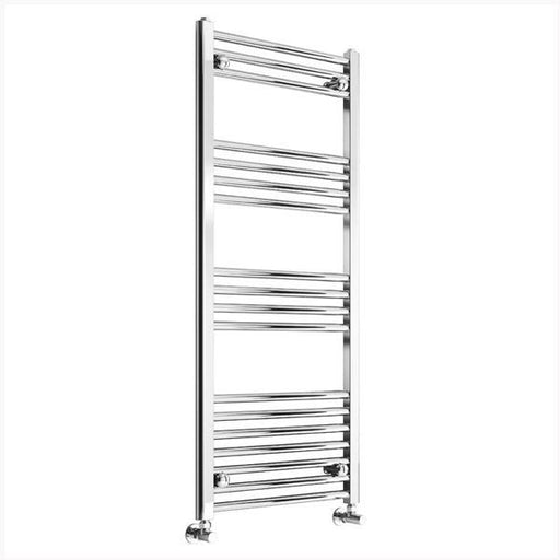 Reina Capo Flat Heated Towel Rail - Chrome