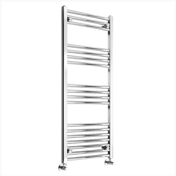 Reina Capo Flat Electric Towel Rail - Chrome