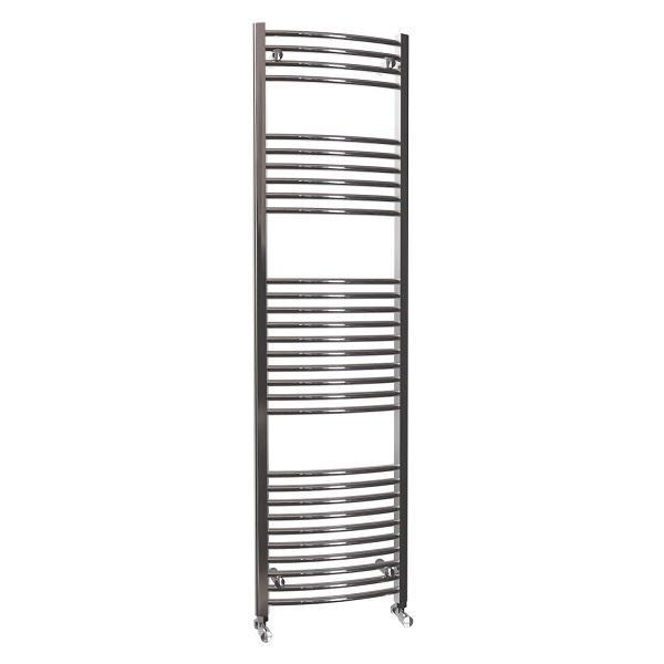 Reina Lima Curved Electric Towel Rail - Chrome