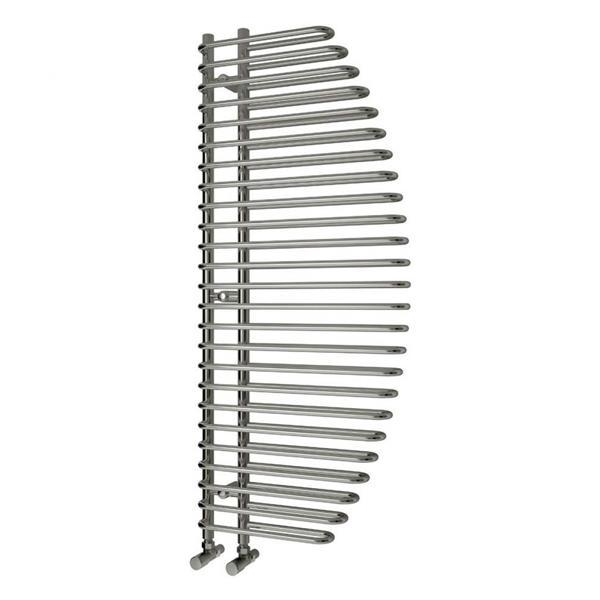 Reina Nola Vertical Designer Towel Rail - 1400mm x 600mm - Chrome