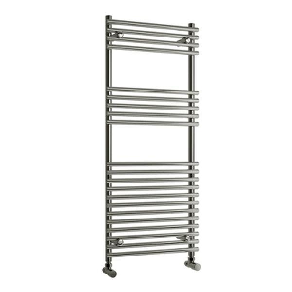 Reina Pavia Vertical Designer Towel Rail - Chrome