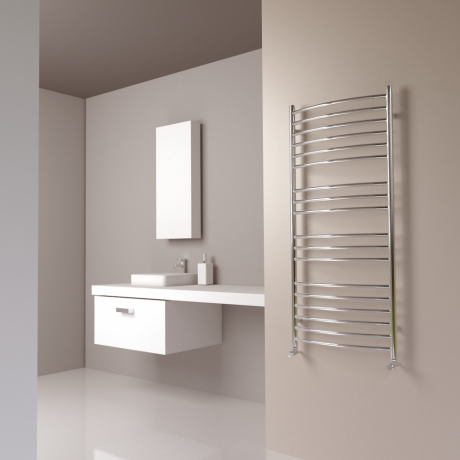 SBH Maxi Curve Stainless Steel Radiator 1300 x 600mm