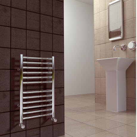 SBH Compact Flat Stainless Steel Radiator 600 x 600mm