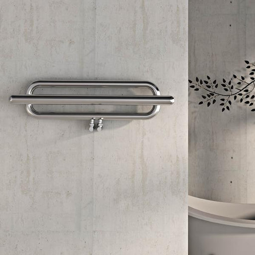 Carisa Swing Stainless Steel Horizontal Towel Rail