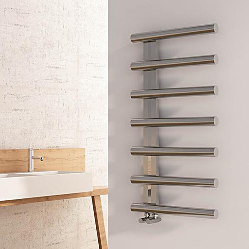 Carisa Ivor Stainless Steel Vertical Towel Rail
