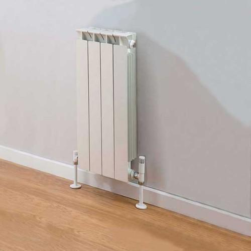 TRC Mix Sectional Aluminium Radiator -Ivory