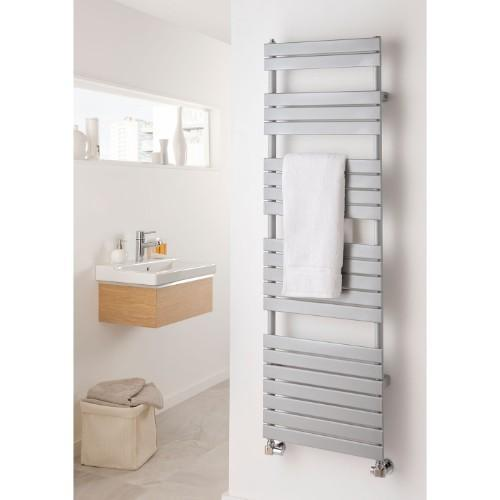 TRC Piano Mild Steel Heated Towel Rail