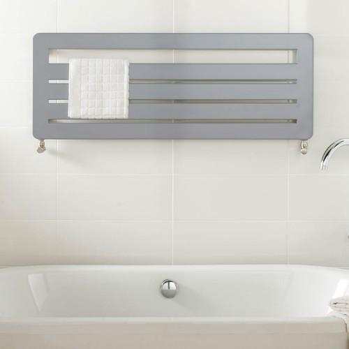 TRC BDO Athena Mild Steel Heated Towel Rail