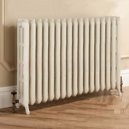TRC Trieste Traditional Cast Iron 3 Column Radiator - RAL