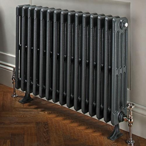 TRC Bianco Traditional Cast Iron 6 Column Radiator - Primer