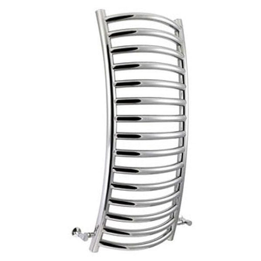 Vogue Flexx Designer Curved Heated Towel Rail - 1240mm H x 550mm