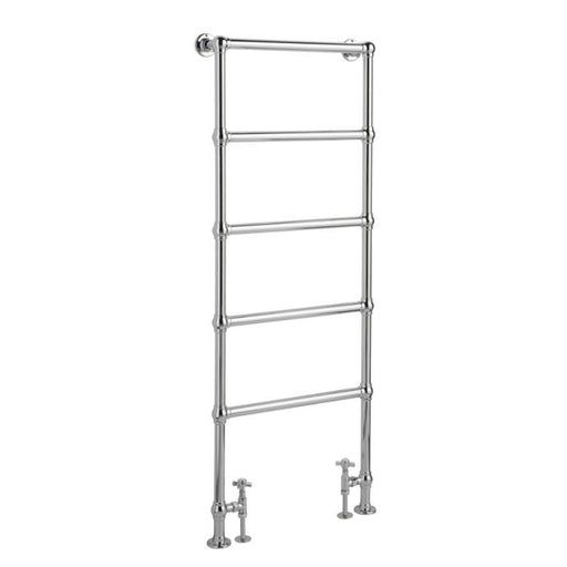 Bayswater Juliet Floor Mounted Towel Rail - Chrome