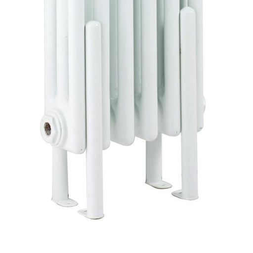 Bayswater Nelson Floor Mounting Kit - White