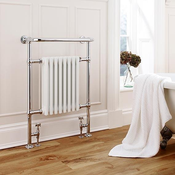 Kartell Crown Designer Towel Rail - Chrome