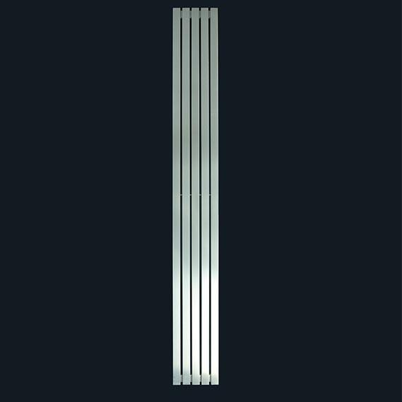 Kartell Idaho Vertical Designer Stainless Steel Radiator - Brushed