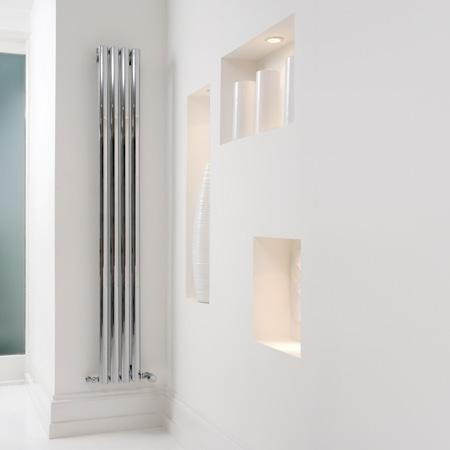 Aeon Sofi Designer Stainless Steel Radiator - Polished
