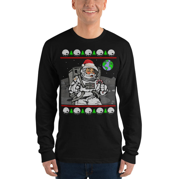 Astronaut Santa Claus Long sleeve t-shirt