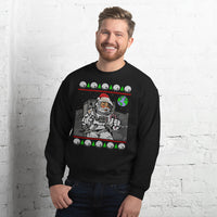 Astronaut Santa Claus Sweater