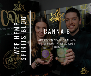 Aberdeen Couple Launches First Hemp & CBD Gin & Rum