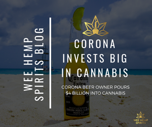 CORONA BEER OWNER TO POUR $4BN INTO CANNABIS