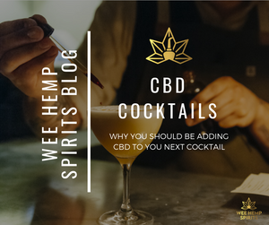 WHY YOU SHOULD BE ADDING CBD TO YOUR NEXT COCKTAIL