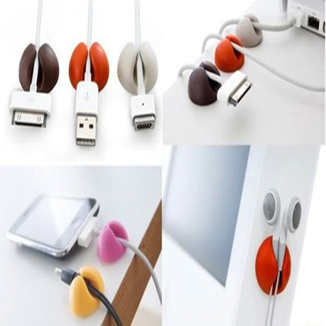 3 Pack Cable Clip Management System