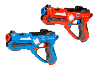 World Tech Warriors Pulse Laser Tag Blasters Battle Pack