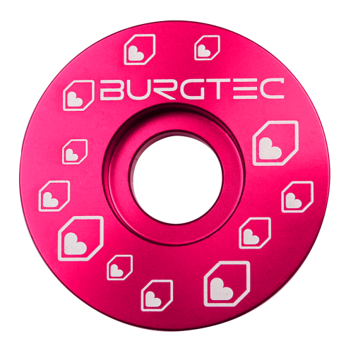 Burgtec Top Caps Toxic Barbie Pink