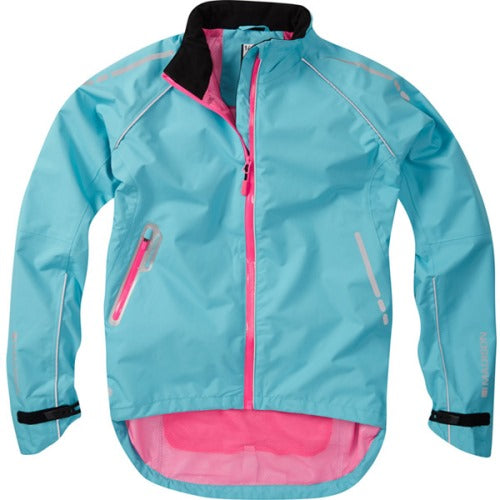 Madison Prima Womens Blue Jacket Front