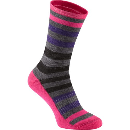 Madison Isoler Merino Pink Pop Sock