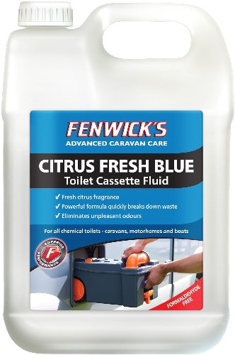 Fenwicks Citrus Fresh Blue Toilet Fluid 2.5L